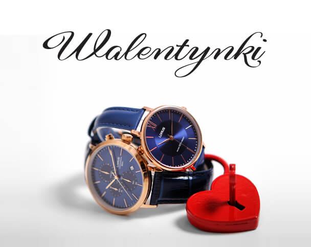 Zegarki walentynkowe