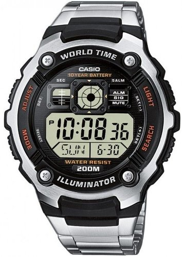 Casio Standard Digital AE-2000WD-1AVEF