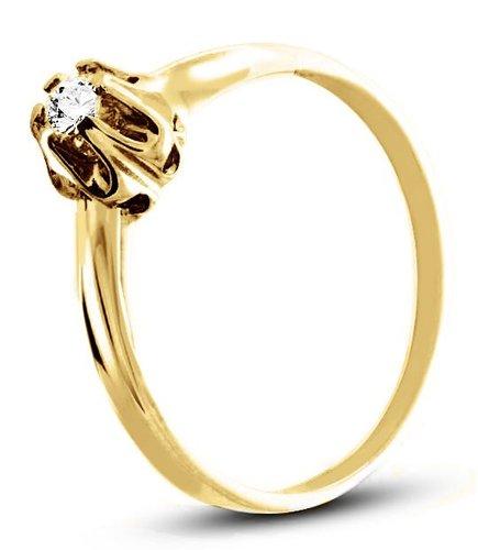 Pierścionek z żółtego złota (AGP01G)