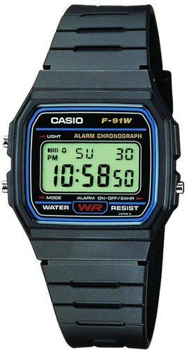 Casio Standard Digital F-91W-1YER