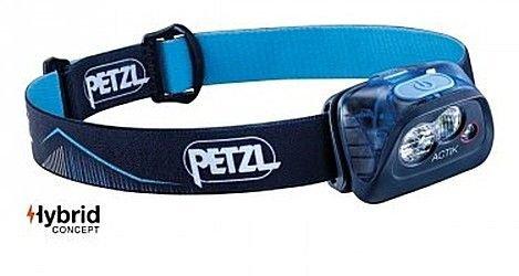 Petzl - PETZL Czołówka ACTIK - kolor niebieski