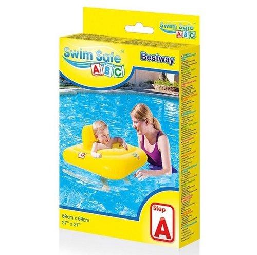Fotelik do nauki pływania Swim Safe 69 x 69 cm