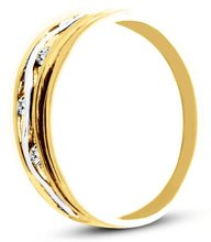 Pierścionek z żółtego złota (AGP19G)