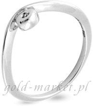 Pierścionek z białego złota z DIAMENTEM (CEAN005WG)