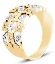 Pierścionek z żółtego złota (AGP25G)