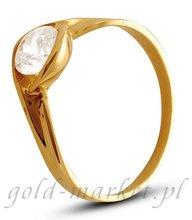 Pierścionek z żółtego złota (AGP07G)