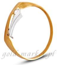 Pierścionek z żółtego złota (AGP06G)