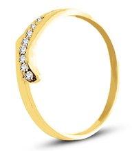 Pierścionek z żółtego złota (AGP15G)