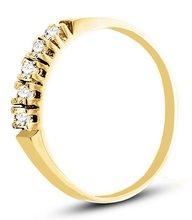 Pierścionek z żółtego złota (AGP22G)