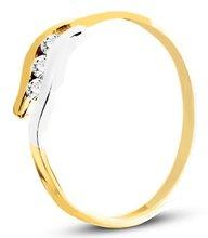 Pierścionek z żółtego złota (AGP09G)