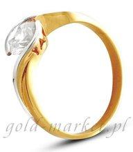 Pierścionek z żółtego złota (AGP12G)