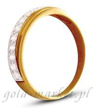 Pierścionek z żółtego złota (AGP21G)