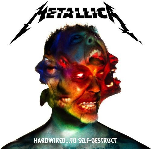 Hardwired To Self destruct Metallica Pyta CD