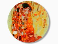 Talerz dekoracyjny - G.Klimt - The Kiss śr.40cm