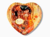 Talerz dekoracyjny - Pocałunek - Klimt - 24.5x23cm