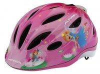 ALPINA Dziecięcy kask rowerowy GAMMA FLASH 2.0 - rozmiar 46-51 - kolor różowy