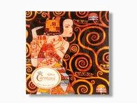 Talerz dekoracyjny - Gustav Klimt Oczekiwanie 15x15cm