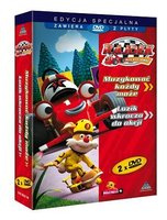 Rajdek mała wyścigówka (BOX 2xDVD) - Rajdek, Mała, wyścigówka (Płyta CD)