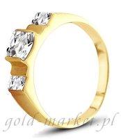 Pierścionek z żółtego złota (AGP04G)