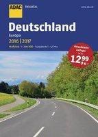 ReiseAtlas ADAC. Deutschland, Europa 2016/2017 - Praca zbiorowa