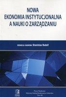 Nowa ekonomia instytucjonalna a nauki o zarzdzaniu