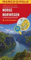 Norwegia mapa drogowa Marco Polo 1:800 000 - Praca zbiorowa