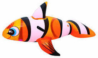 Dmuchana ryba do pływania