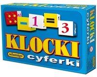 ADAMIGO Klocki Cyferki