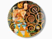 Talerz dekoracyjny - G.Klimt - Oczekiwanie 40cm