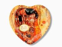 Talerz dekoracyjny - Pocałunek - Klimt -19x18cm