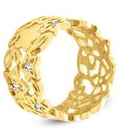 Pierścionek z żółtego złota (AGP23G)