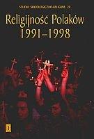 Religijność Polaków 1991-1998 - Ks. Witold Zdaniewicz Sac