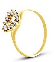 Pierścionek z żółtego złota (AGP18G)