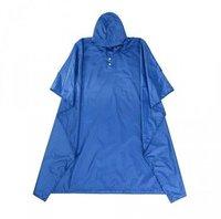 NATUREHIKE Ponczo 3w1 HIKING PONCHO 210T - kolor niebieski