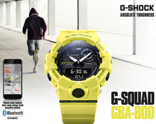 Casio G-Shock z Bluetooth