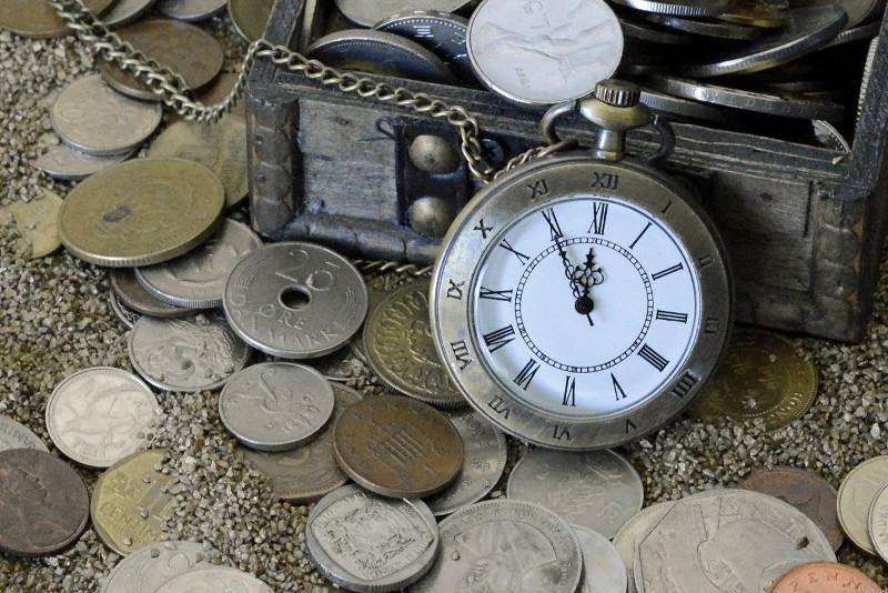 Pierwszy przenośny zegarek kieszonkowy