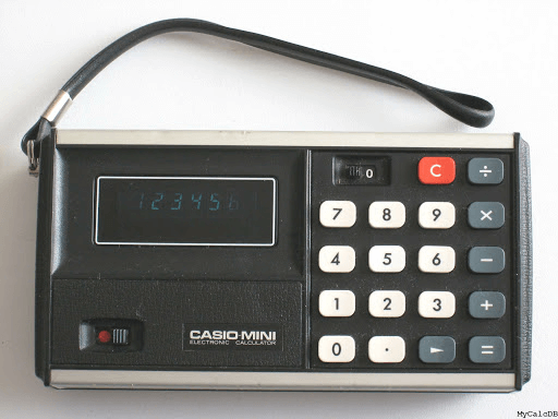 Kalkulator Casio MINI