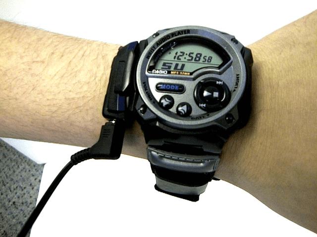 Casio WMP-1V MP3 Audio Watch