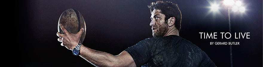 Gerard Butler Time to LIve
