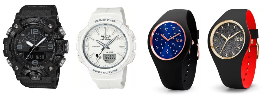 Kilka zegarków