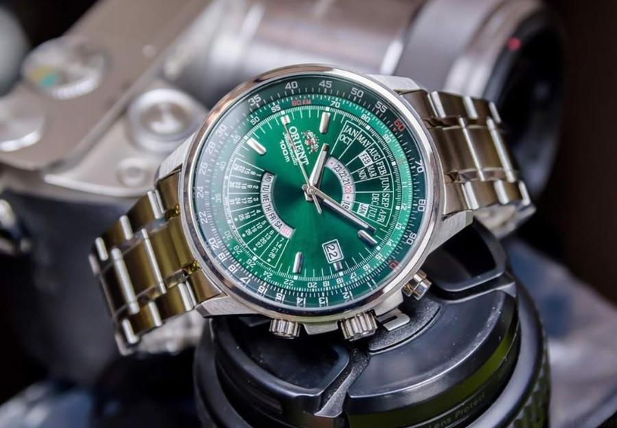 Zegarek Orient w kolorze zielonym
