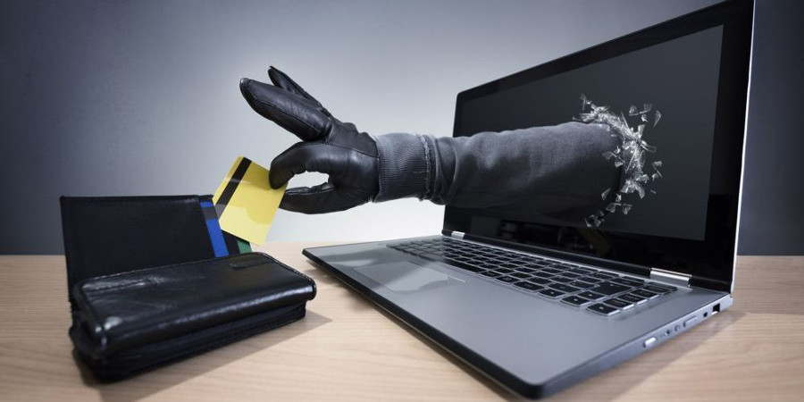 Ręka z komputera