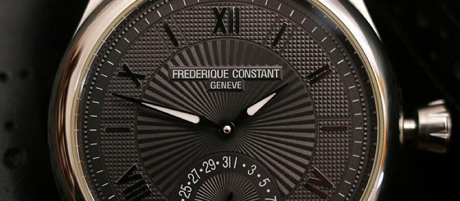 Gliszowanie tarczy zegarka