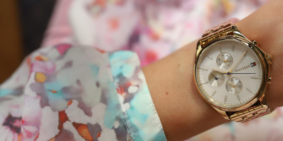 Damski zegare Tommy Hilfiger na ręce