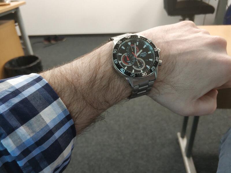 wygrana łukasza w konkursie na zegarek lorus