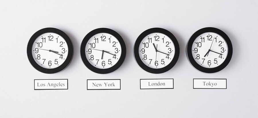 Zegary na świecie